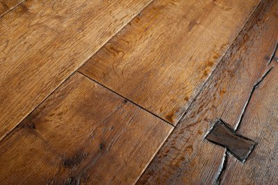 Engineered Wooden Flooring : Orlestone Oak Timber